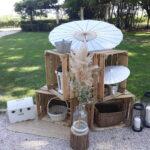 caisses en bois décorées
